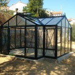 Helios Orangery on a conc base