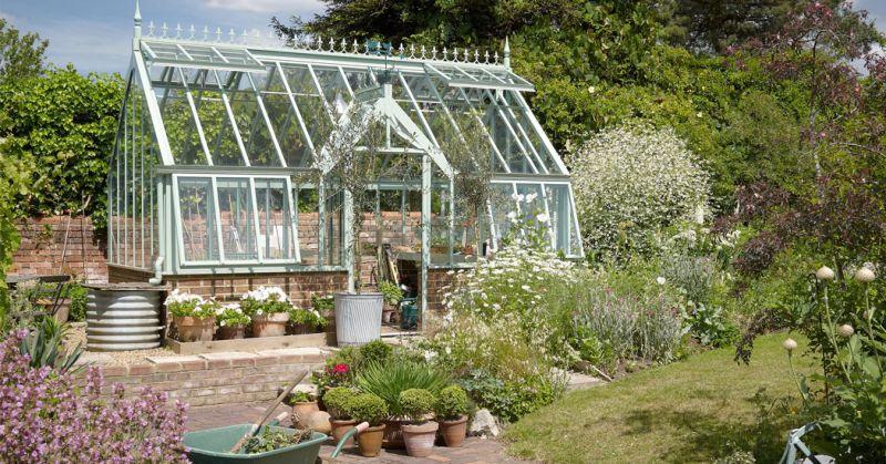 Small Porch Herb Garden