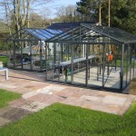 Two Helios Greenhouses side by side