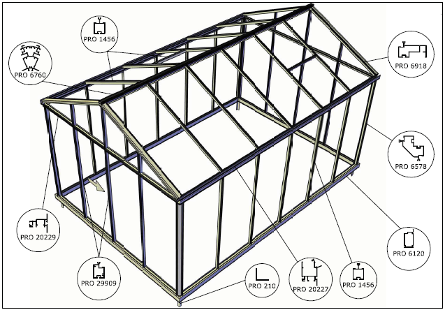 Instruction Manual for Helios Greenhouse Structures