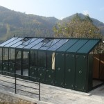 3.84m x 8.28m Helios with full length decorative aluminium panels