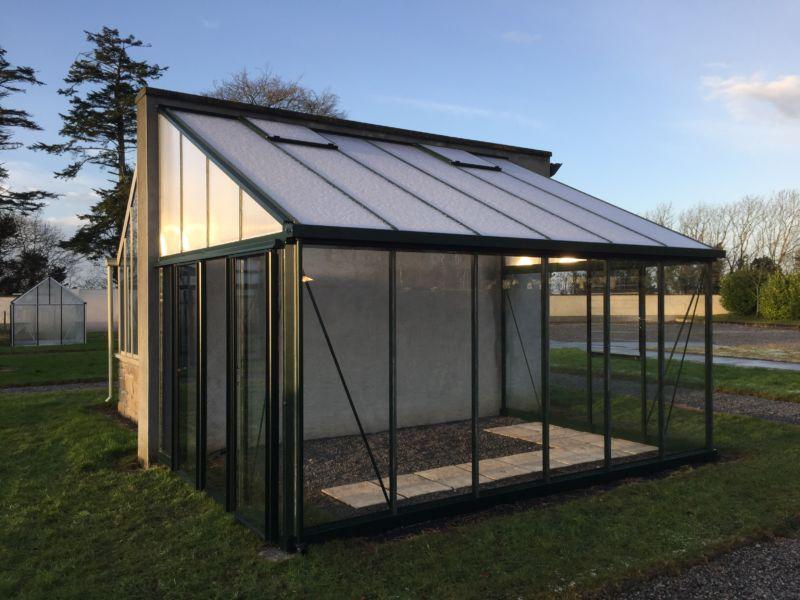 Arcadia Plus Lean-to Glasshouse