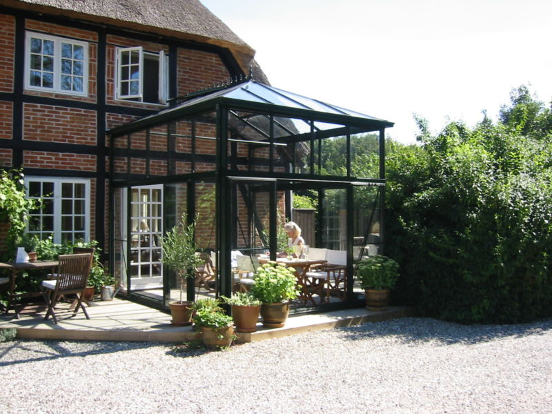 Professional Orangery without wings